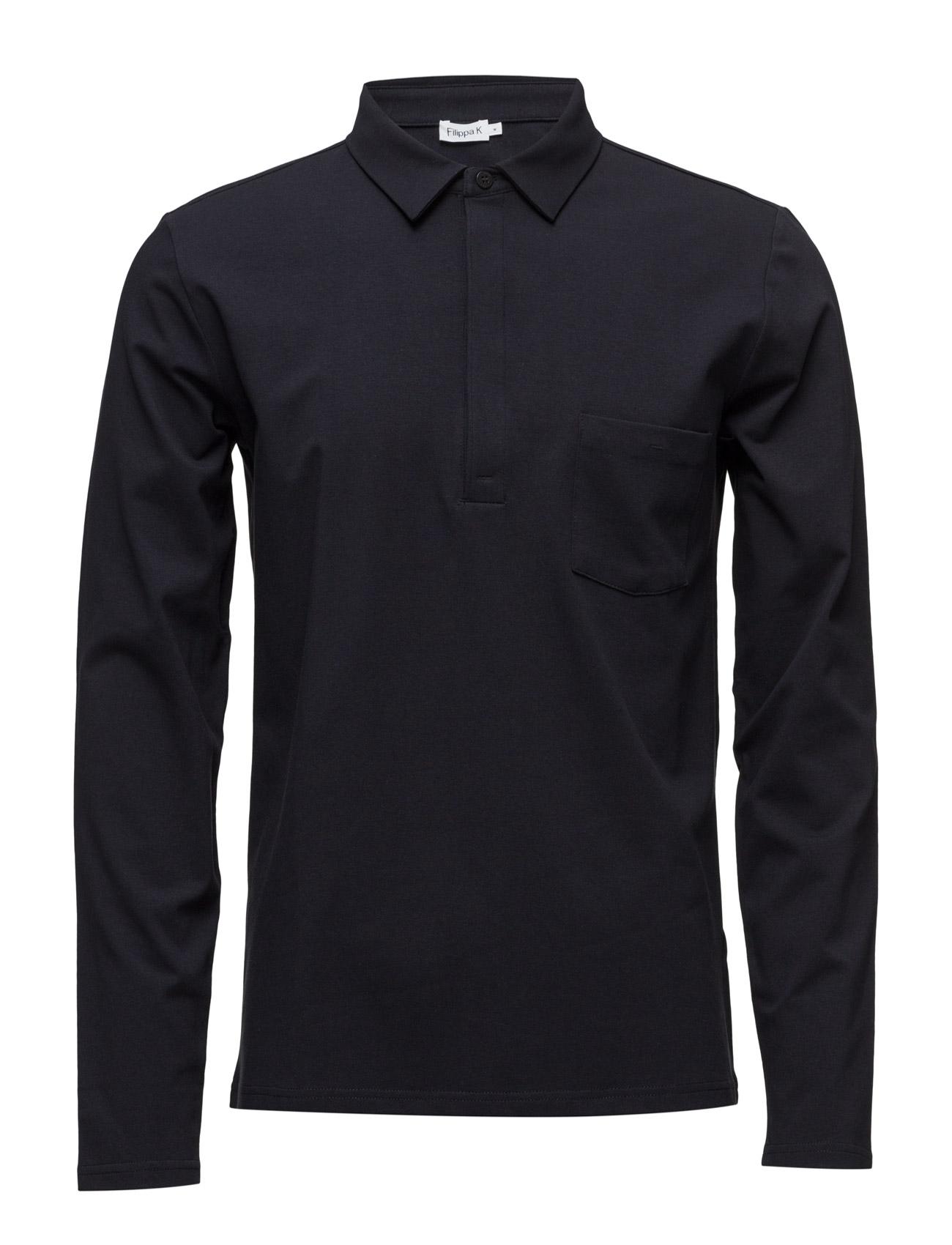 M. Soft Lycra Poloshirt Filippa K Længærmede Pikétröjor