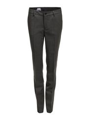 Luisa Cool Wool Slacks - Grey Mel.