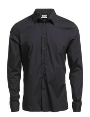 M. Paul Stretch Shirt - Dk. Navy