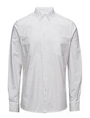 M. Paul Oxford Shirt - WHITE