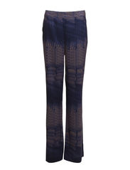 Dina Print slacks - Mink/Space