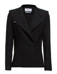 Tailored Jersey Jacket - Black