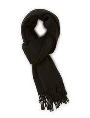 Cashmere Blend Scarf - Black