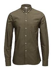 M. Paul Oxford Shirt - CROCODILE