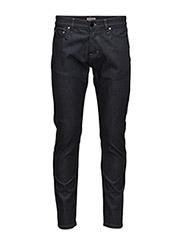 M. Stan Raw Stretch Jeans - Raw Blue S