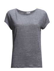 Linen Tee - Light Grey