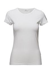 Fine Lycra T-Shirt - WHITE
