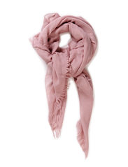 Wool Spring Scarf - Dusty Pink