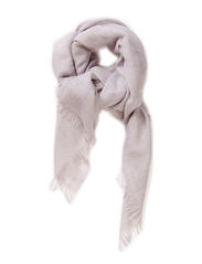 Wool Spring Scarf - Light Grey