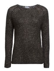 Mohair Lurex Pullover - Dk. Grey