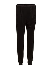 Tailored Jersey Pants - Black
