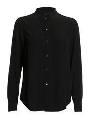 Classic Silk Shirt - Black