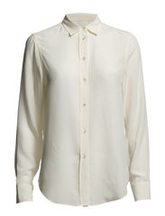 Classic Silk Shirt - Cream