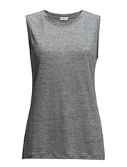 Linen Tank - Light Grey
