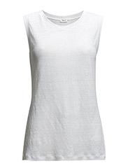 Linen Tank - White