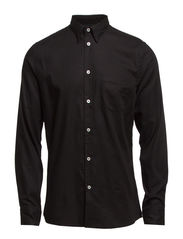 M. Paul Open Weave Shirt - Black
