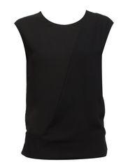 Wrap Layer Blouse - Black