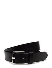 M. Leather Belt - BLACK