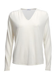 Crepe Jersey Top - Offwhite