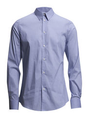 M. Paul Stripe Shirt - Lt. Blue M