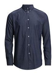 M. Phil Indigo Pattern Shirt - Well Bird