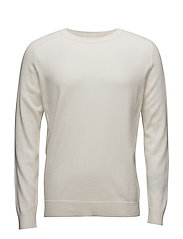 M. Cotton Merino Sweater - ECRU
