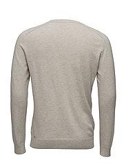 M. Cotton Merino Sweater - MUD MEL.
