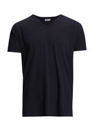 M. Lt. Single Jersey V-Neck Te - Navy