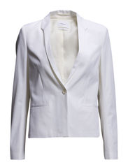 Liz Structure Jacket - White