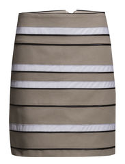 Multi Tape Skirt - Sand