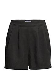 Fay Tencel Linen Shorts - Black