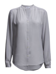 Poly Crepe Blouse - Crystal