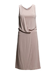 Drape Tank Dress - Dusty Pink