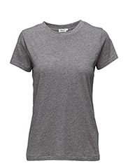 Cotton Tee - GREY MEL.