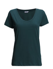 Cotton Scoopneck Tee - Screen