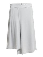 Drapey Pleat Skirt - Crystal
