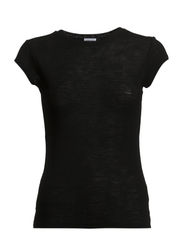 Slim Merino Tee - Black