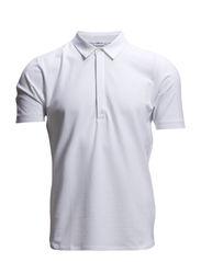M. Pique Poloshirt S/S - White