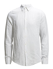 M. Pierre Light Twill Shirt - White