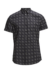 M. Pierre Box Print Shirt - Vault