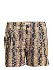 Li Print Shorts - Boho Print