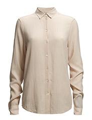 Cotton Crepe Shirt - Peach