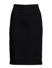 Firm Pencil Skirt - Black