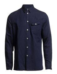 M. Peter Linen Shirt - French Blue