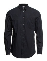 M. Peter Metro Print Shirt - Navy