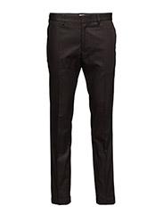 M. Liam Sharp Cotton Pants - Black