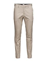 M. Liam Sharp Cotton Pants - SANDY
