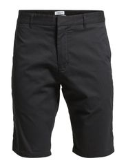 M. Samuel Stretch Twill Shorts - Graue
