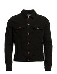 M. Keith Trucker Jacket - Black