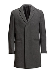 M. Christopher Wool Coat - Granite Me